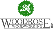 Woodrose Woodworking Logo